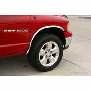 Polished Stainless Steel Full Fender Trim For 2002-2008 Dodge Ram 1500 By Putco