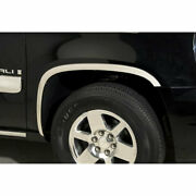 Polished Stainless Steel Full Fender Trim For 2007-2014 Chevy Suburban By Putco