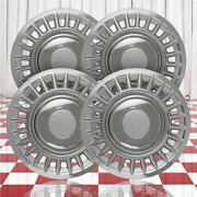 16 Push-on Chrome Hubcaps For 1998-2002 Ford Crown Victoria Qty Four