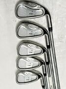 Taylormade Rac Os Iron Partial Set 4 678 Pw. S Light Metal Flex.rh