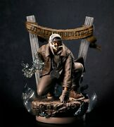 Concrete Jungle X Signed Method Man Statue Wu-tang Tical Variant Only 100 Made