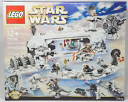Lego Star Wars Assault On Hoth 75098 New Retired Exclusive Unique Minifigures