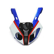 Red Blue White Abs Front Upper Fairing Nose For Bmw S1000rr 2009 10 11 12 - 2014