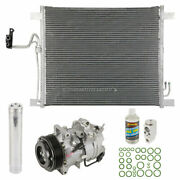 A/c Kit W/ Ac Compressor Condenser And Drier For Infiniti Ex35 And Fx35
