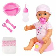 Little Bubba 78871 My Real Baby Magic Potty Doll New