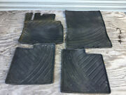 09-17 Mercedes W463 G550 Front And Rear Floor All Weather Rubber Mats Set Of 4 Oem
