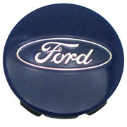 Blue Center Cap With Ford Logo W/5clips Fits 2015-2017 Ford F-150 3