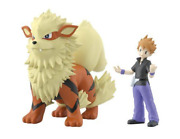 Pokemon Scale World Kanto Blue Gary And Arcanine New 1/20 Scale Pocket Monster