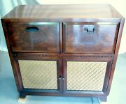 1930s Zenith Admiral Antique Old Tube Radio Record Player Good Working/cosmetic