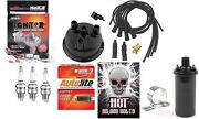 Electronic Ignition Kit And Hot Coil For John Deere 1020 1520 Tractor