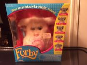 Furby 2005 Your Emoto Tronic Friend White /beige Very Rare New .sealed Box
