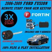 100 Plug And Play Remote Start 2006-2009 Ford Fusion 3x Lock