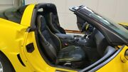 2005-2011 C6 Corvette Replacement Leather Seat Covers With Alcantra Insert