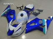 Fairing Fit For Gsx-r 1000 2003-2004 K3 New Abs Plastic Injection Blue White Ab8