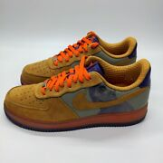 Nike Air Force 1 Low Amare Stoudemire New Six Brown Grey Size 11 315182-071 2007