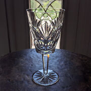 Waterford Crystal Ashling Water Goblet 7 Ireland Made