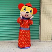 New Year's Mouse Mascot Costume Lucky Gods Party Performance Mascot Decoration
