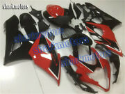 Fairing Injection Red Black Complete Fit For 2005-2006 Suzuki Gsxr 1000 Set Aa7