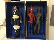 Spiderman Peter Parker 16andrdquo Doll Limited Edition Fao Spider Man Trunk Set Tonner