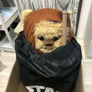 Star Wars Life-size Ewok Wicket Plush Doll Limited Rare Used From Japan F/s