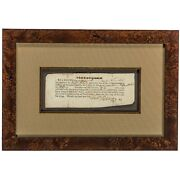 Rare Whiskey Rebellion Oath Of Allegiance - Issued By General Henry Lee In 1794