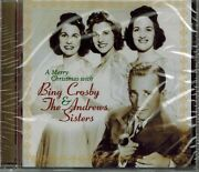 Bing Crosby And The Andrews Sisters - A Merry Christmas With - New Sealed Cd
