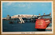 Airline - Twa 1950's Super Connie - Midway Issued Postcard