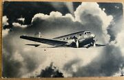 Airline - Twa 1930's Dc-2 Airline Issued Postcard