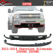 Front Lower Valance Textured + Extension For 2011-2014 Silverado 2500hd 3500hd