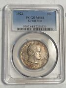 Classic Commemorative Grant Memorial 1922 P Pcgs Ms-64 Grant Star