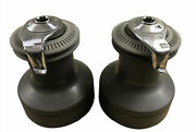 Pair Of Lewmar 2 Speed Ocean Series 54st Alloy Finish Winches Free Shipping Us
