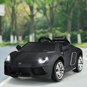 Kids Ride On Cars With Remote Control Mp3 Electric 12v 2 Speed Outdoor Toy Gift