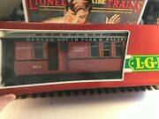 🚅 G Scale Lgb 3181 Denver, South Park And Pacific Combine Car-new 💥 G440