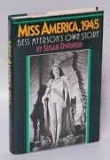 Susan Dworkin / Miss America 1945 Bess Myerson's Own Story Signed 1st 200659