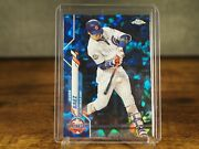 2020 Topps Chrome Update Sapphire Javier Baez U-235 Chicago Cubs All Star Game