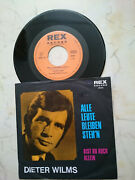 Dieter Wilms All People Bleiben Stand ´n / Are You Also Alone 60s Rex Label Nm