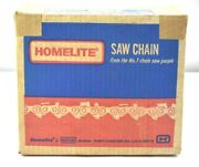 Vintage Nos Homelite Chainsaw Saw Chain 25-c50 25 Foot Roll .050 Gauge 1/4 Pitch