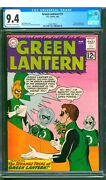 Green Lantern 11 Cgc 9.4 Nm One Owner Exceptional Nice Ow/w Pages
