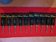 Greenlee Tools   Metric Nut Drivers    10 Piece Set   Hollow Shaft
