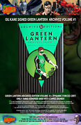 Gil Kane Signed Green Lantern Archives Edition 1 - Dynamic Forces Certified