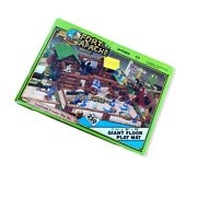 Marx Toys Fort Apache Frontier Play Set With Floor Mat Vintage 1992 The Old West
