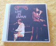 Carpenters Live In Japan 1974 Collectors Edition Cd's Very Rare