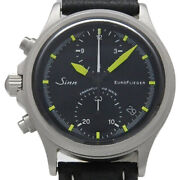Sinn 356 Euro Flieger Limited Edition Pilot Chronograph Automatic Leather Menand039s