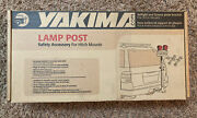 Yakima Lamp Post Safety Accessory Hitch Mount Taillight/license Bracket For Rack