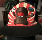 """Domo Ball Cap Hat """"big In Japan"""" Nhk Japan Mascot Fitted Embroudered Sz L/xl New"""