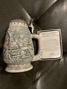 Harley-davidson 2000 Cavanagh Collector Beer Stein 116204 Extremely Nice /coa