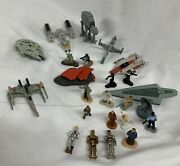 Star Wars Micro Machines Lot Figures And Vehicles Vintage 90s Toy Yoda Solo C3p0