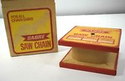 Vintage Nos Sabre Chainsaw Saw Chain 1/4 Pitch .050 Gauge Chain No 16 25' Roll