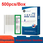 Luoya Acupuncture Spring Handle Needles With Guide Tube 500 1000 Massage Cupping