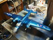 Usa Themed B-25 Mitchell Bomber Airplane Model Dual .049 Solid Surface